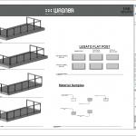 Wagner Glass Railing - Legato Flat Post BIM Drawing