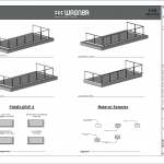 Wagner Glass Railing - PanelGrip BIM Drawings