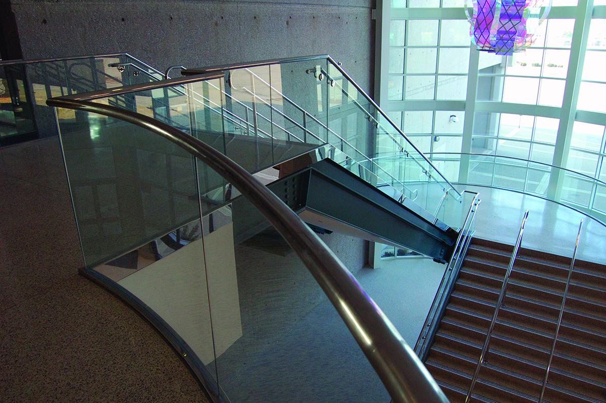 Garde-corps en verre PanelGrip