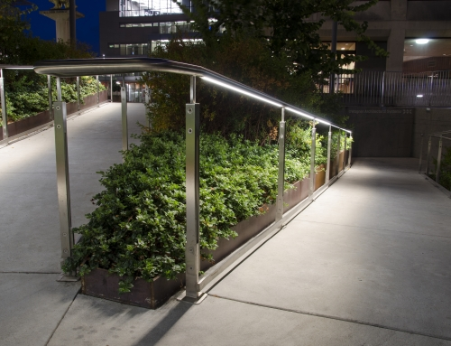 UCB Sproul Hall – Lighted Railing