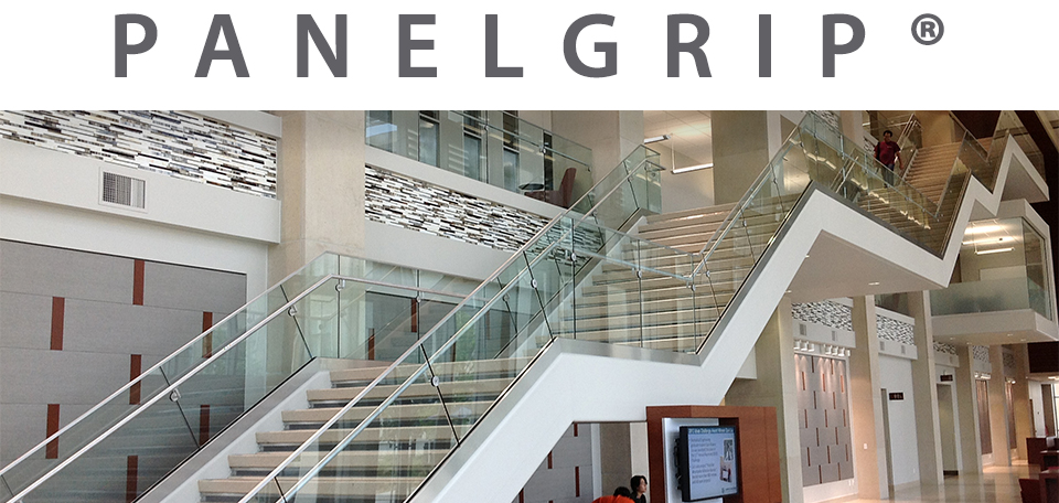 PanelGrip® Dry Glaze Glass Railing Systems - Wagner
